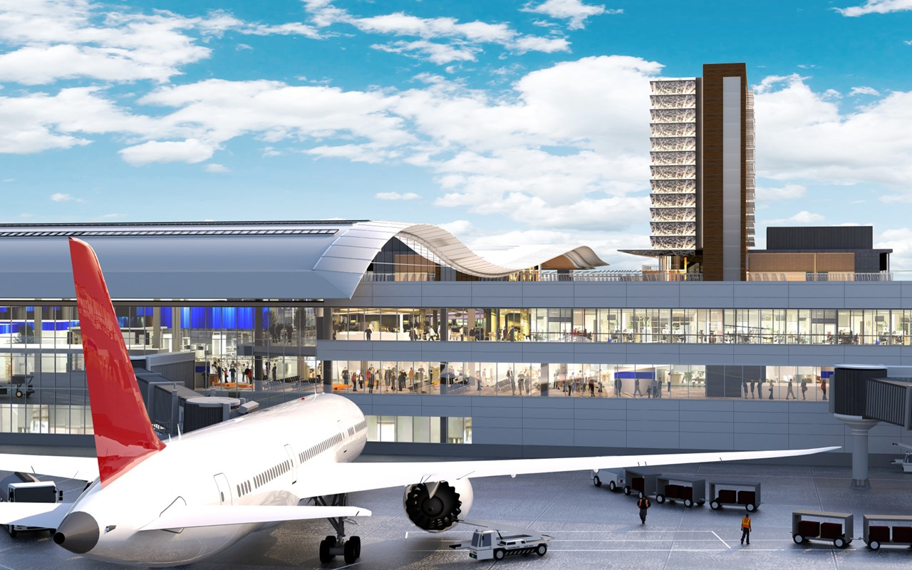Airport Plans Take Flight