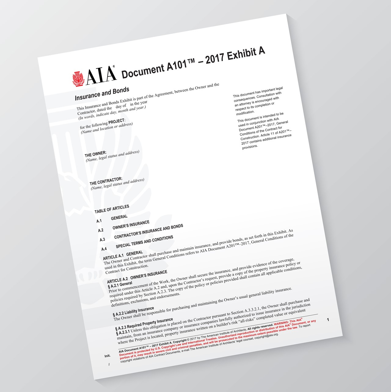 How Will the New 2017 AIA Contract Documents Affect Projects