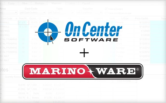 On Center Software Partners with MarinoWARE
