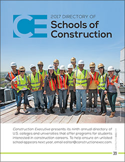 Construction Executive Digital Edition Directory of Schools of Construction